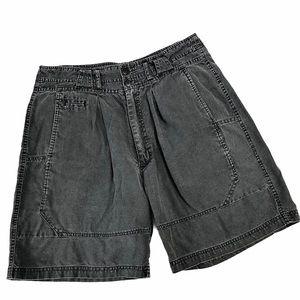 Vintage 80s Gitano High Waisted Shorts Faded Black